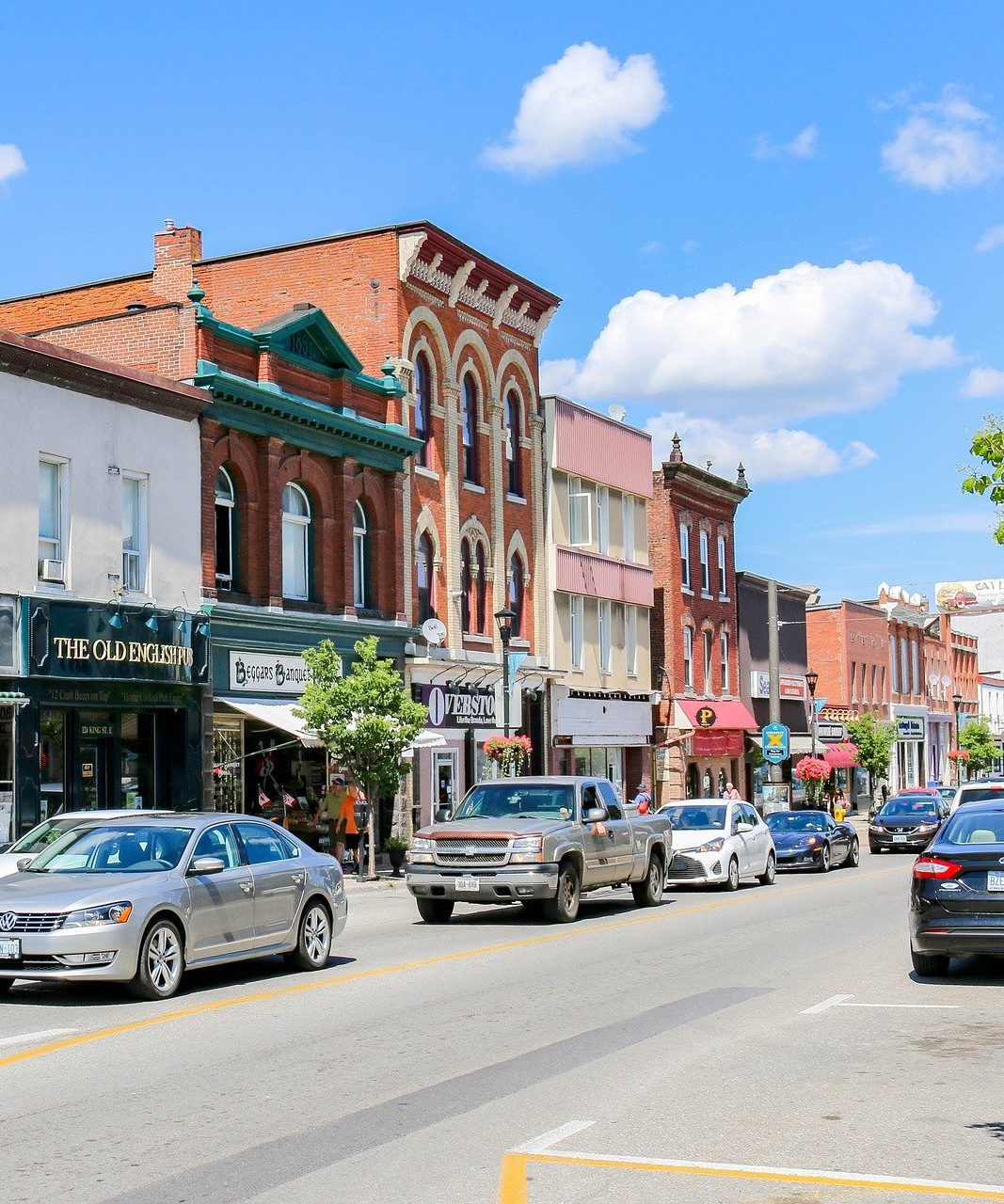 Community Economic Development - Town Street Front